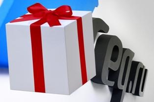 Подарки от Рег.ру